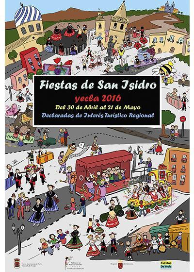 Cartel San Isidro 2016
