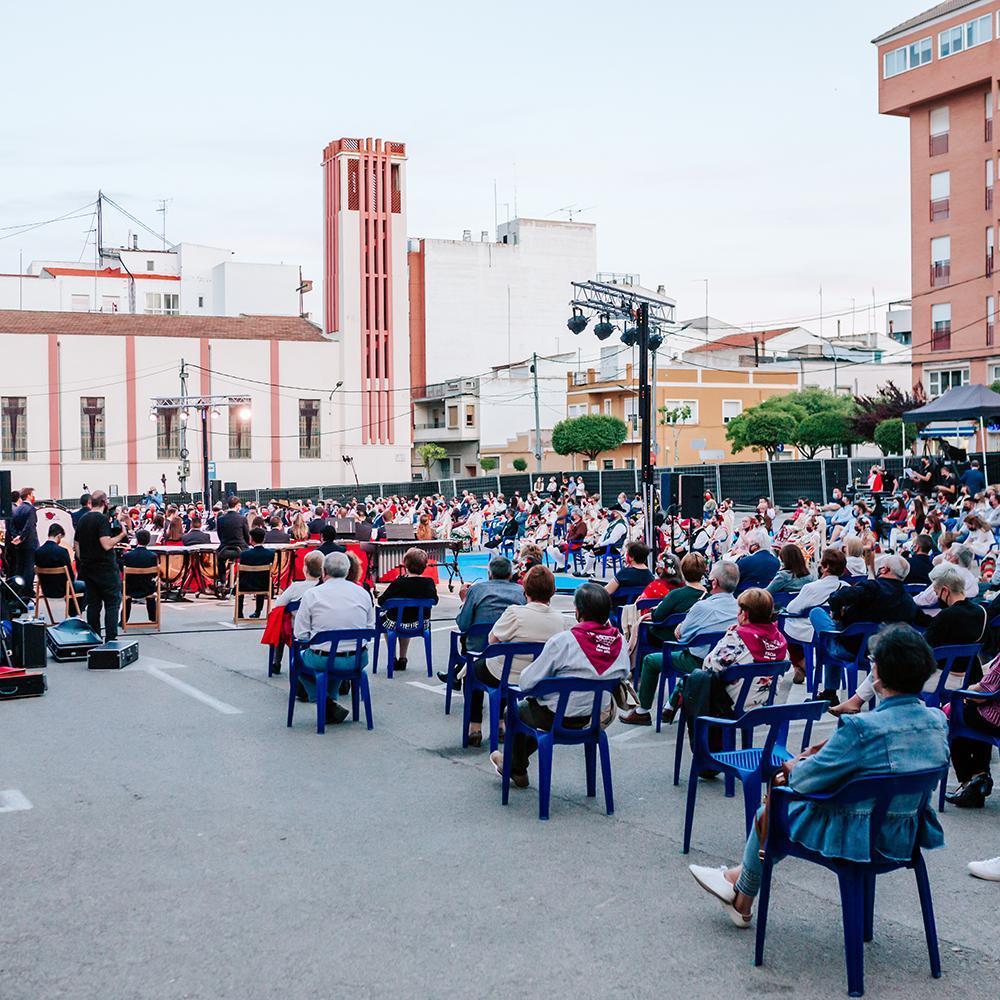 Acto Federación de Peñas de San Isidro 2021