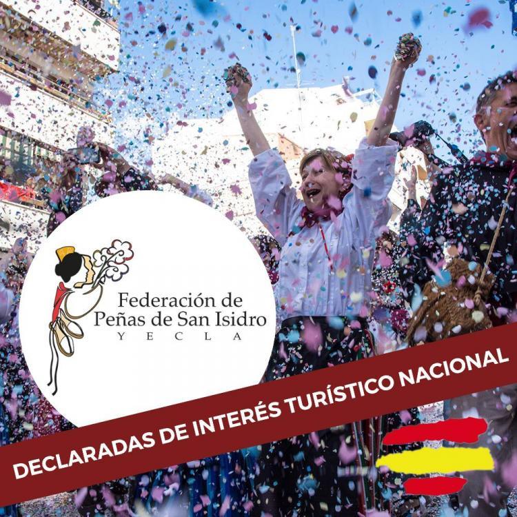 LAS FIESTAS DE SAN ISIDRO DE YECLA DECLARADAS DE INTERÉS TURÍSTICO NACIONAL